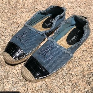 Size 7 Sam Edelman Blue Espadrilles